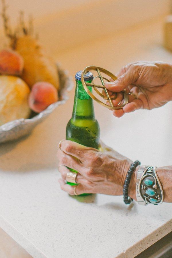 Noah Marion Bottle Opener - Brass