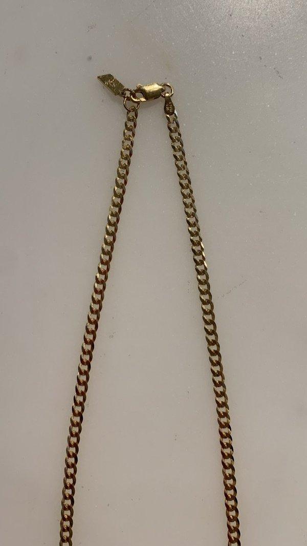 Loren Stewart Havana Chain Necklace - Gold Plated