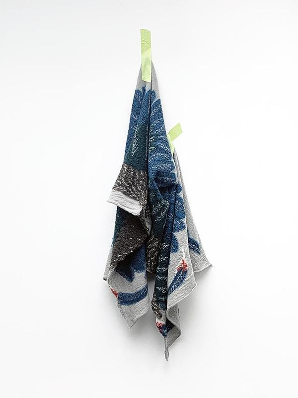 UNISEX Kapital Compressed Wool Scarf - Ohwashi
