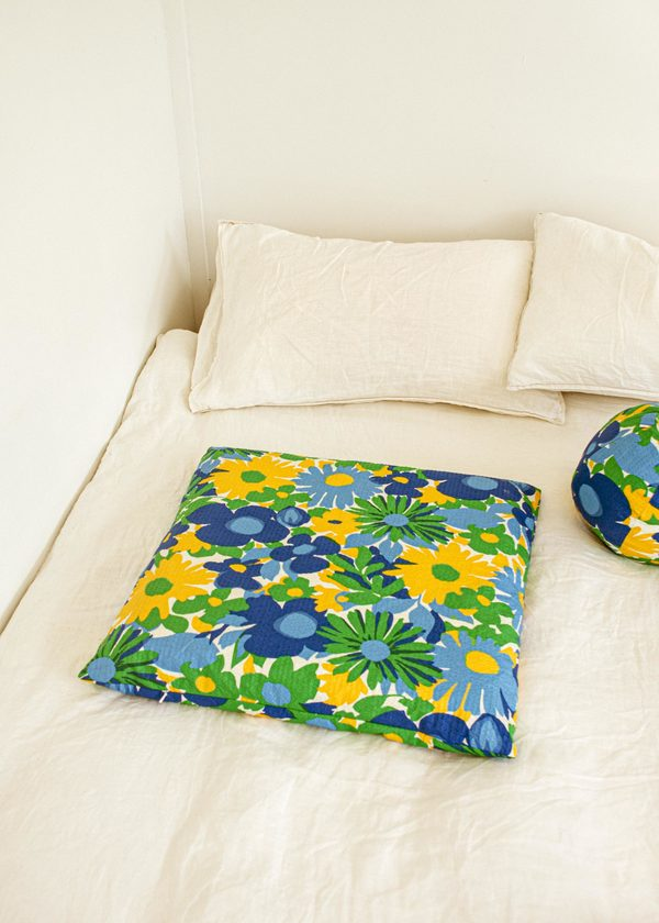 Klay x Penny Sage Floor Cushion - Wildflower