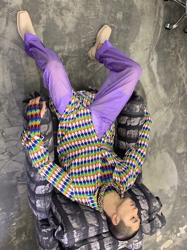 Unisex PRONOUNCE Rainbow Terra-cotta Warriors Top