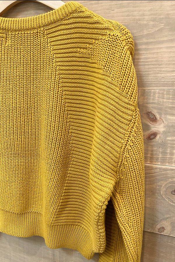 L.F.Markey Julius Knit Sweater - Saffron