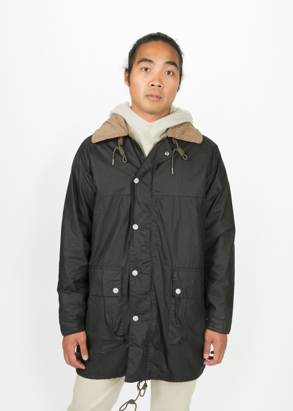 88d5e797b62d Men s Nigel Cabourn Boat Oil Coat