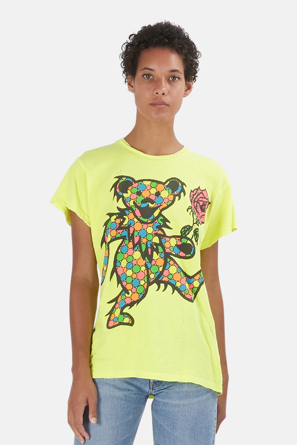MadeWorn Greatful Dead Dancing Bears Tee - Acid