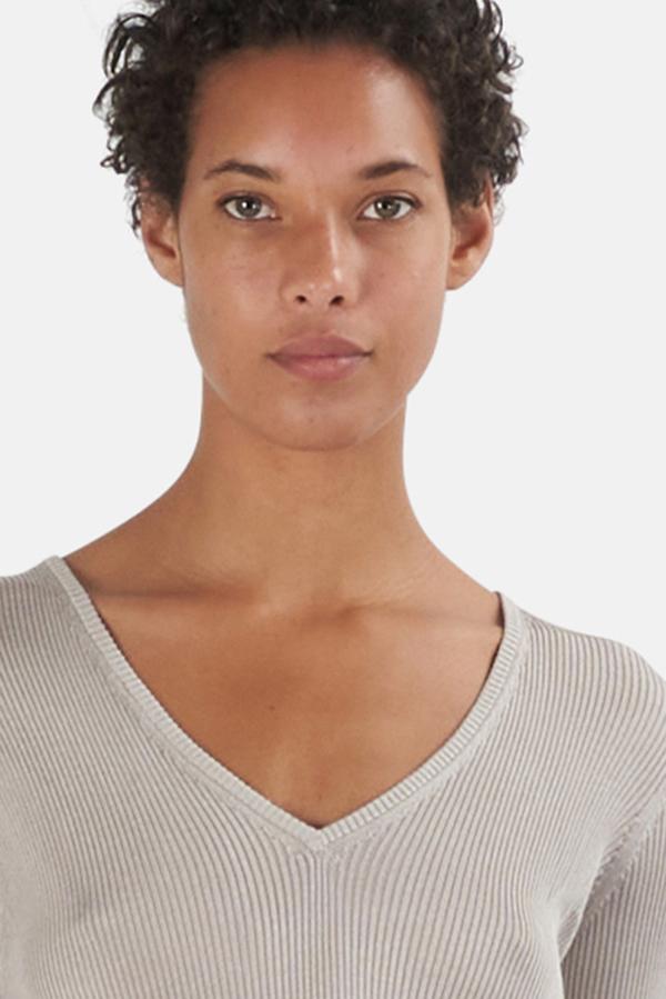 IRO Louyse Sweater - Beige/Stone Grey