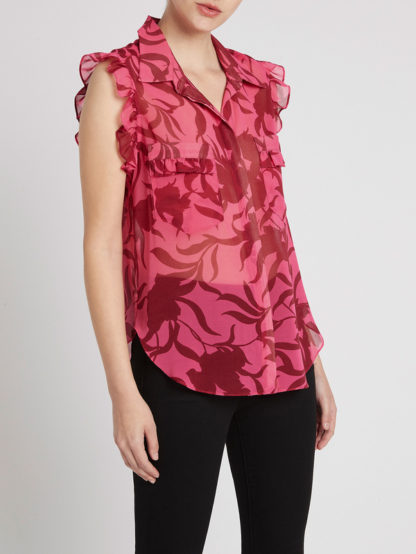 Misa Los Angeles Jessica Top - Graphic Floral