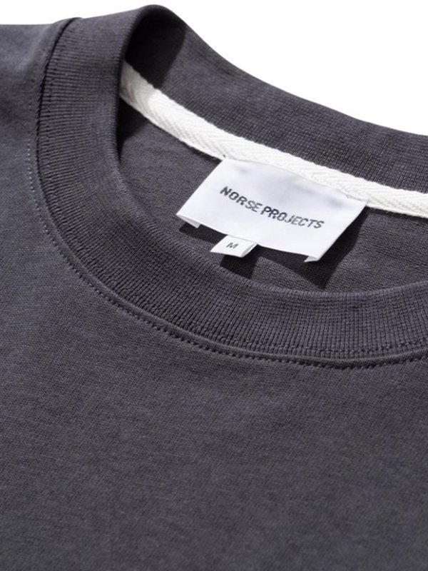 Norse Projects Johannes Pocket T-Shirt - Slate Grey
