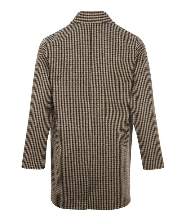 A.P.C. Flynn Recycled Wool Mac Jacket - Beige