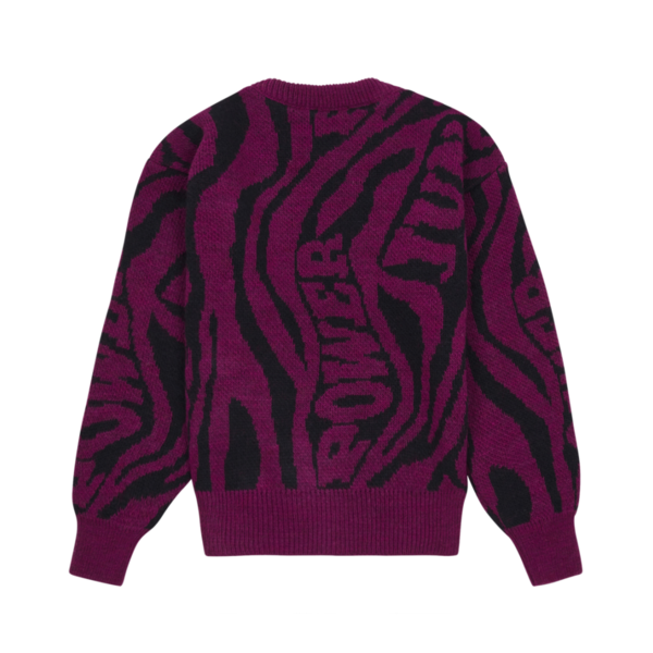 kids Hundred Pieces Jungle Knitted Jumper - Midnight