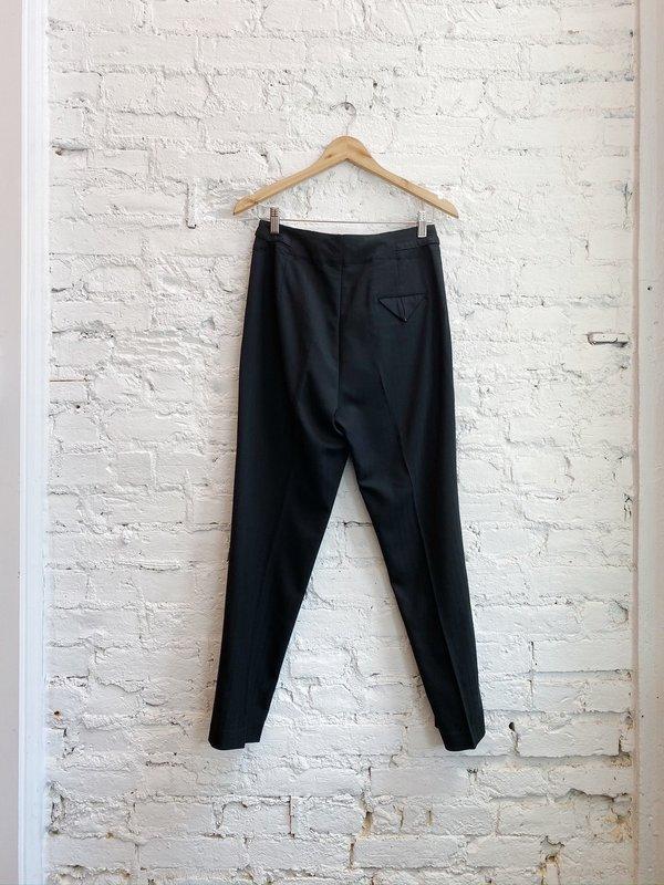 Pas de Calais Pin Trouser - Black