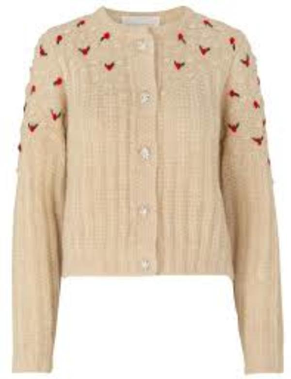Notes du NOrd Rollo Cardigan - Winter White