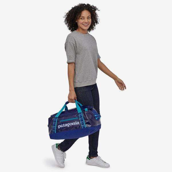 Patagonia Black Hole® 40L Duffel Bag - Home Planet/Piton Purple