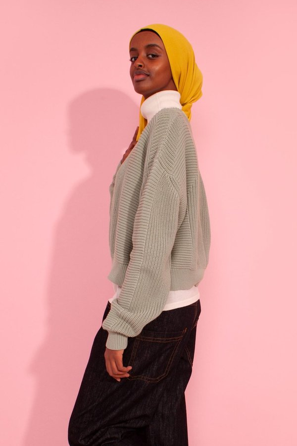 L.F.Markey Julius Knit Sweater - Mint