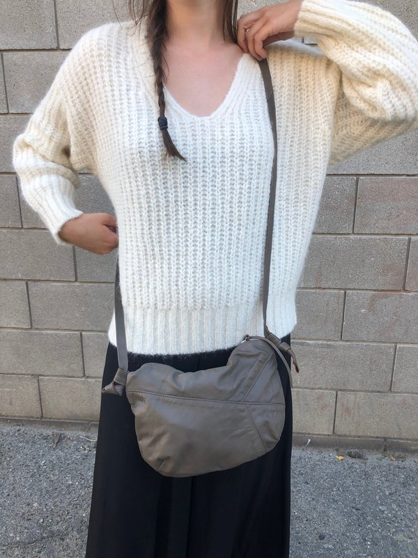 Erin Templeton TGIF Recycled Leather Bag - Taupe