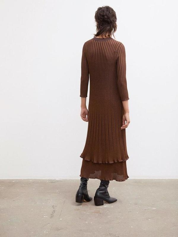 By Malene Birger Aulax Dress - Dark Plum