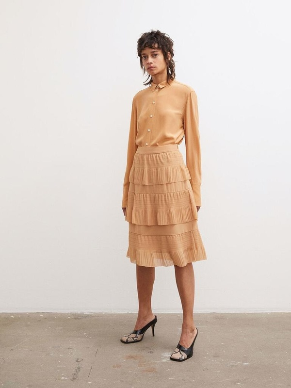 By Malene Birger Durantes Skirt - Tan