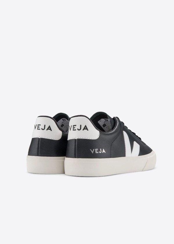 VEJA Campo Sneakers - Black/White