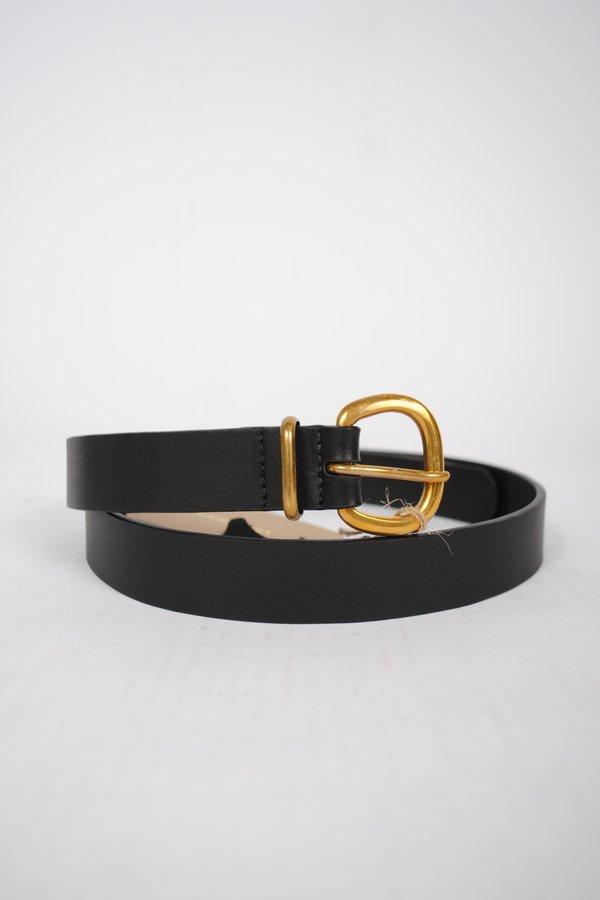 Rachel Comey Thin Estate Belt - Black