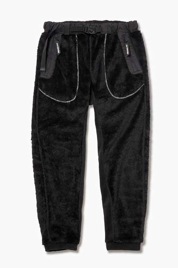 And Wander High Loft Fleece Pants - Black
