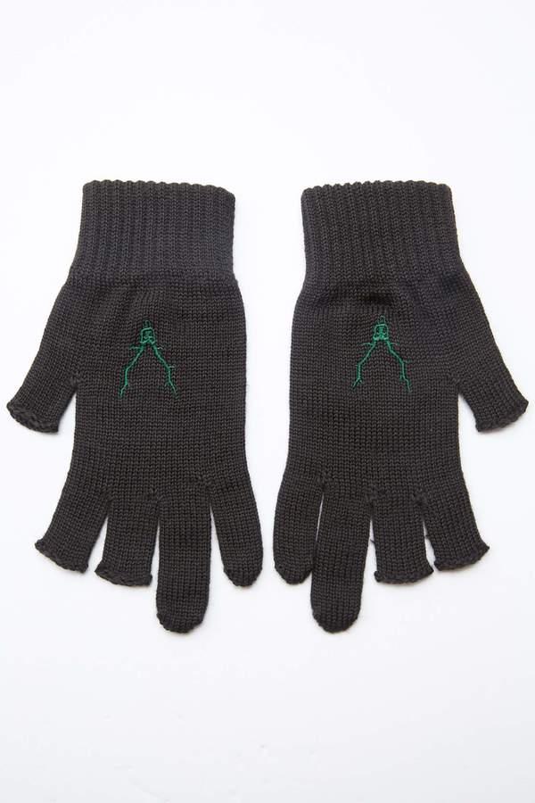South2 West8 Glove W/A Knit - Brown