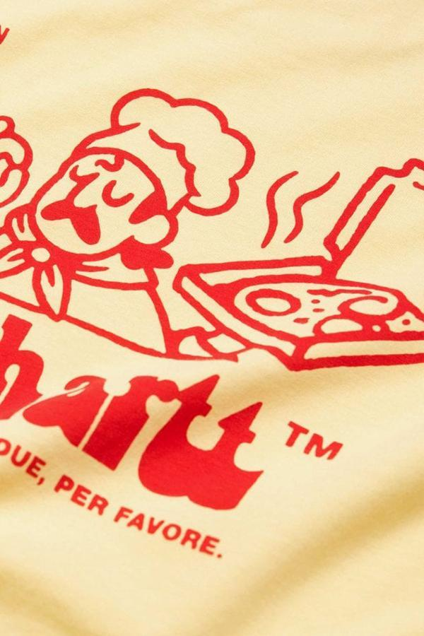 CARHARTT WIP S/S Bene T-Shirt - Fresco/Red