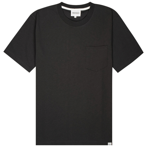 Norse Projects Johannes Pocket Ss Tshirt - Slate Grey