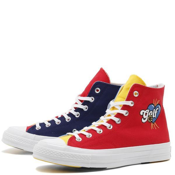 Converse x Golf le Fleur Chuck 70 Hi Sneakers - Multi
