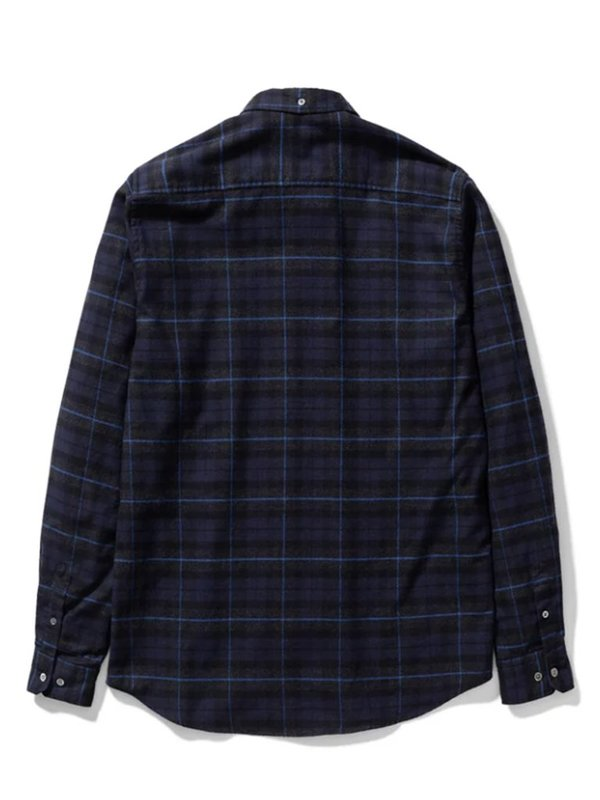 Norse Projects Anton Check Shirt - Navy