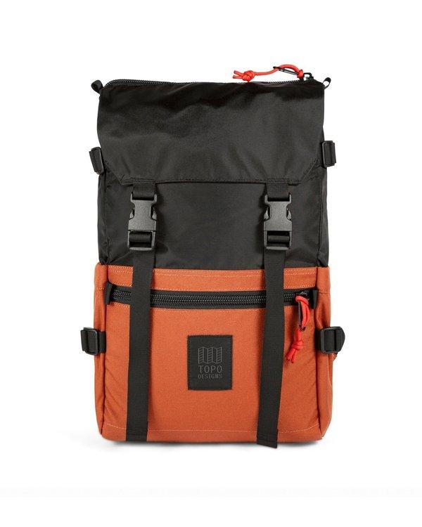 Topo Designs Rover Pack Classic - Black / Clay