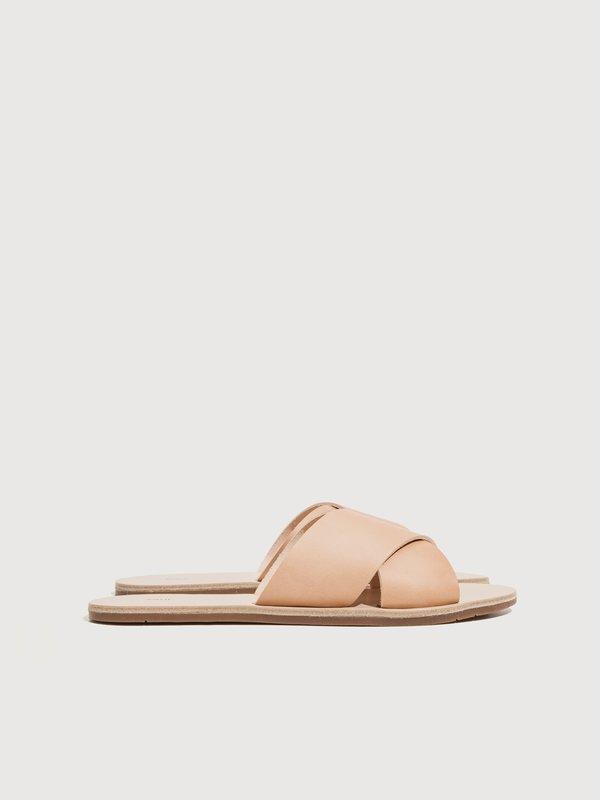 ZUZII FOOTWEAR Cross Sandals - Natural