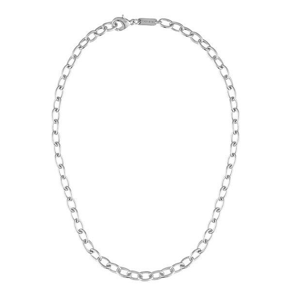 Machete Oval Link Chain - Silver
