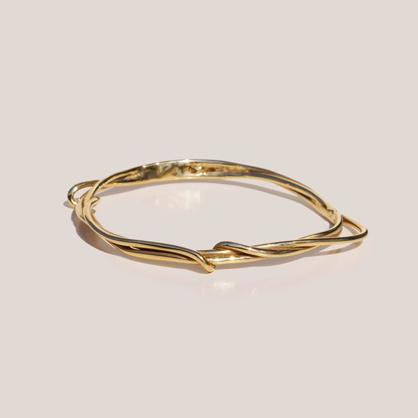 FARIS Tangle Bangle - Bronze