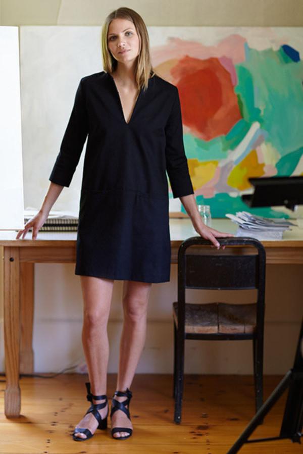 Emerson Fry Mod Dress In Black Garmentory