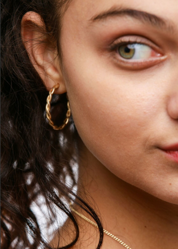 ABLE Ivy hoops - 14K GOLD