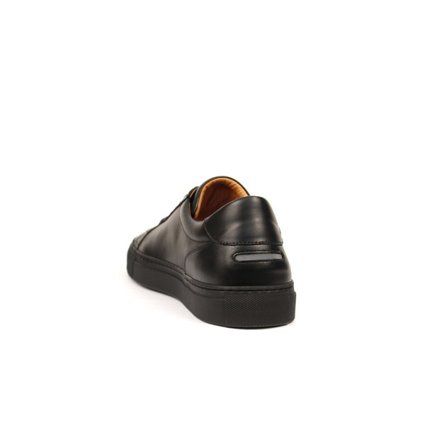 Unseen Footwear Helier Tonal Leather - Black