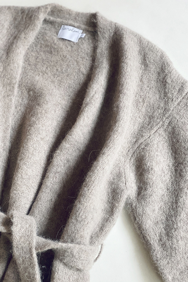 Saralam Knitted Robe - Hazel