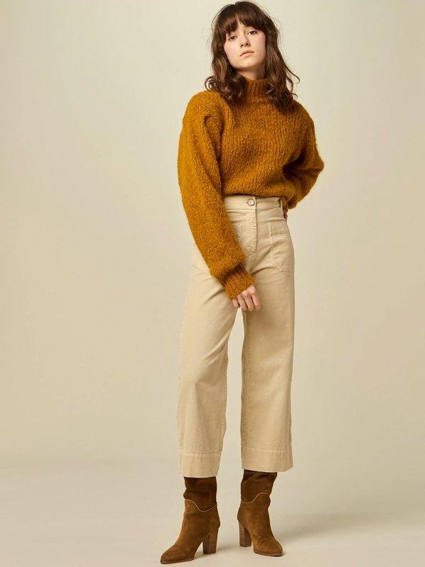 Sessun Hudson Trousers - Milk