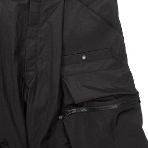 Guerrilla Group ES-PS01 RECYCLER CARGO SHORTS - BLACK