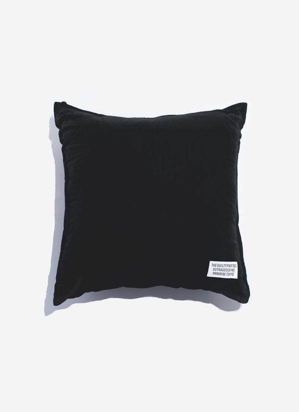 Wacko Maria Velour Pillow - Black