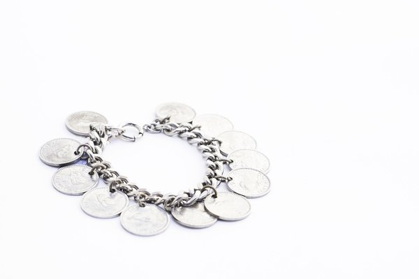 Vintage Coin Bracelet