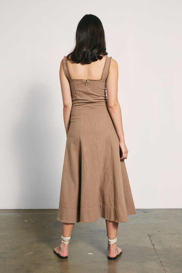 MARLE Anouk Dress - Taupe