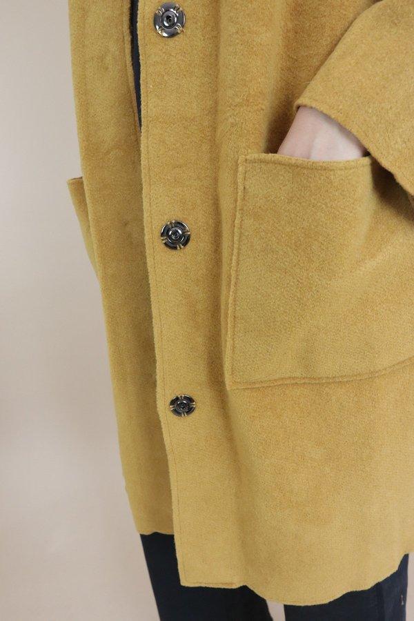 Nice Things Woollen Bomber Jacket - Ochre