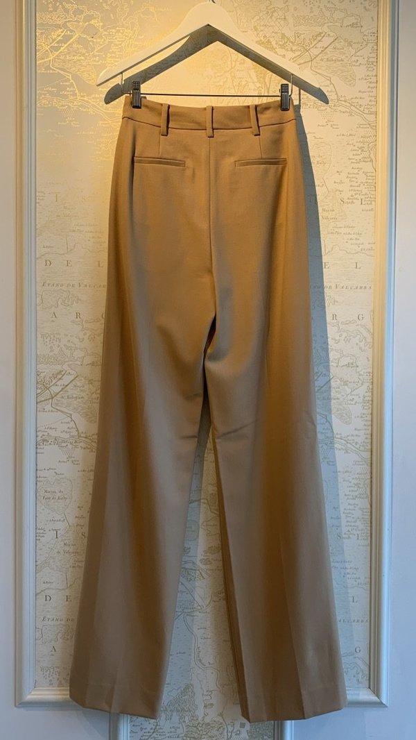 Jonathan Simkhai Lucille Pleated Wide Leg Pant