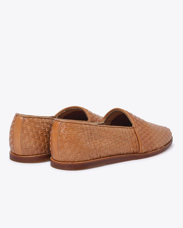 Nisolo Mara Woven Slip On - Brown