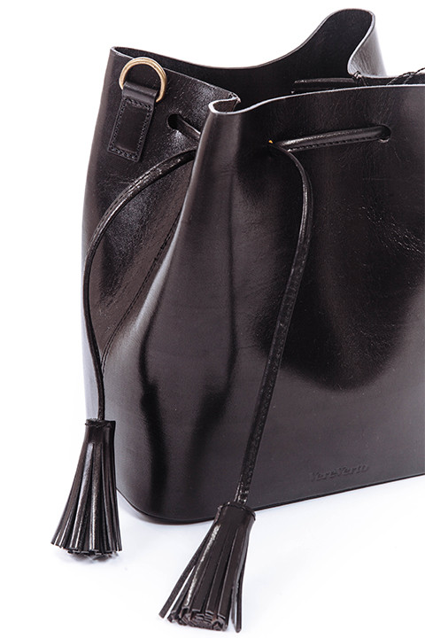 VereVerto Dita Bag in Black Colors