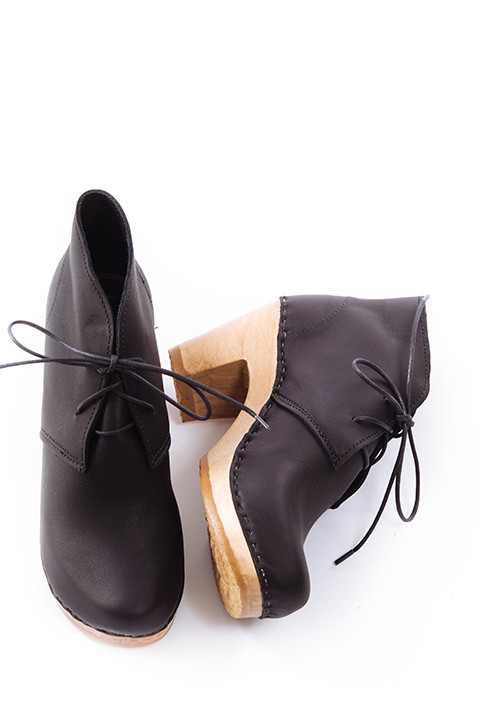 No. 6 Garcia Leather Boot in Black