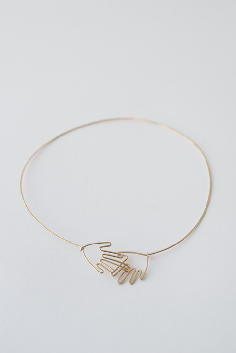 Mary MacGill Hand Choker Necklace