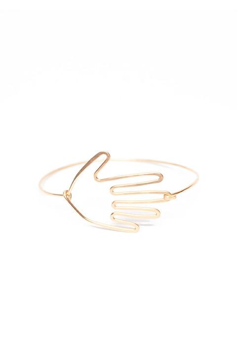 Hand Cuff Bracelet by Mary MacGill