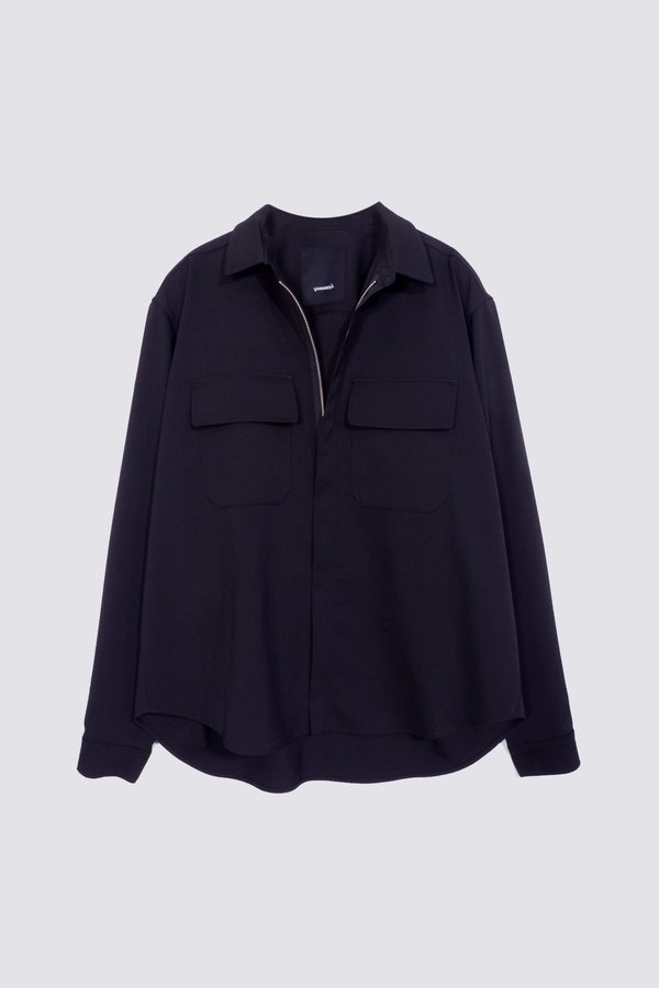 Assembly Suiting Poet Shirt - Black
