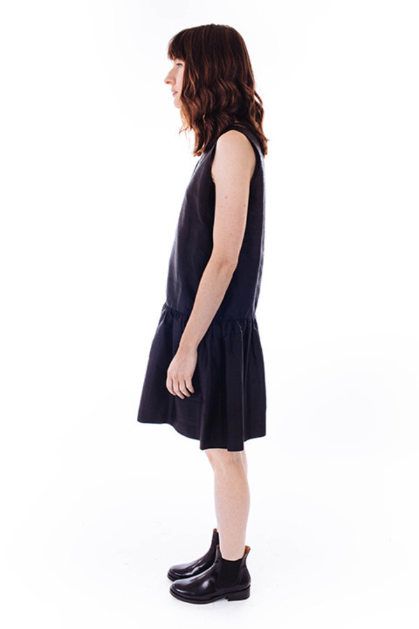16fd746e Ganni Ima Silk Dress in Black | Garmentory